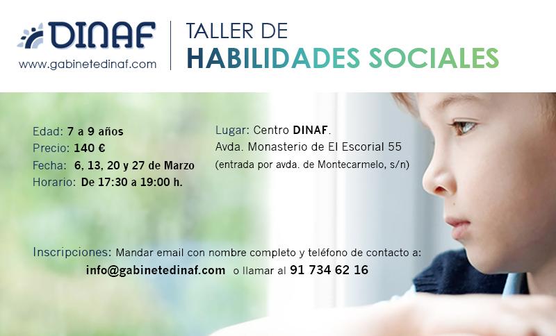 TALLER DE HABILIDADES SOCIALES (Marzo 2020)